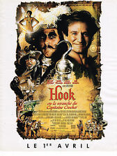 PUBLICITE ADVERTISING 124  1992  STEVEN SPIELBERG film HOOK  ROBIN WILLIAMS