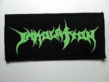 IMMOLATION    WOVEN  PATCH