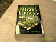 Splinter Cell by Tom Clancy & David Michaels    2004    (r)