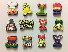 Set of 12: Brand New GoGo's Crazy Bones Collectible Refrigerator Magnets - Mint!