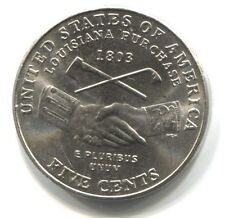 2004 D Indian Peace Lewis and Clark Jefferson Nickel Coin Uncirculated - Denver