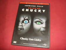 BRIDE OF CHUCKY  DVD Region 1 USA NTSC