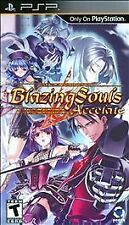 BLAZING SOULS NLA PSP ACTION NEW VIDEO GAME