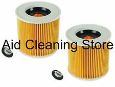 2 x Wet & Dry Filter for KARCHER MV2 SE4001 SE4002 WD2200 WD2210 Vacuum Cleaner