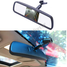 "Car Rear View Mirror Built in 4.3"" TFT LCD Monitor 2CH Video Input with Bracket"