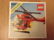 Lego 6685 Fire Copter from 1982  -  instuctions only - free post