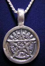WOW EGYPTIAN ETERNAL LIFE PENDANT PENTAGRAM ANKH silver 925