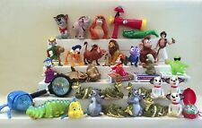 Large Vintage Disney Lot - McDonald's 80's & 90's Happy Meal Toys - 34 Pieces