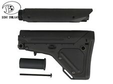 CALCIO SOFTAIR SERIE M4 UBR NERO AIRSOFT TACTICAL STOCK BIG DRAGON 0177