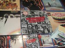 ROLLING STONES  LET IT BLEED 6 JAPAN OBI RARE 10 CDS + 11 VINYL LPS COMBINATION