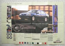 BIG 1999 Mercury TRACER Brochure / POSTER w/ Color Chart : LS, GS, Station Wagon