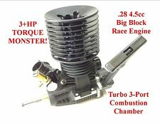 TURBO 1/8 .28 RC Nitro Motor for 8ight-T RC8T RC8B Savage X XL Trophy MBX-7T 7TR