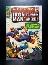 COMICS: Tales of Suspense #76 (1966) 1st Ultimo cameo app - (captain america)