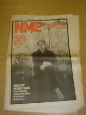 NME 1982 APR 10 RICK JAMES MARINE GIRLS SANDIE SHAW