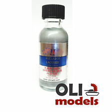 RAF High Speed Silver Lacquer 1oz Bottle - ALCLAD II LACQUER 125