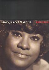RUTH BROWN - brown black & beautiful LP