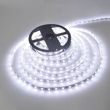 Led Waterproof Strip Lights White Flexible Rope Lighting Tape Light 12 Volt