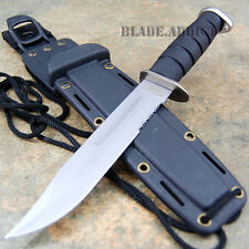 """12"""" Marine Military Hunting Tactical Combat Survival Knife Fixed Blade Bowie"""