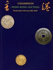 Champion Auction Catalog China Hong Kong Silver Paper Yuan Tael Notes 2010