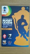 RUGBY LEAGUE WORLD CUP 2013 GROUP B