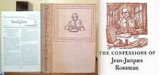 Confessions of Jean-Jacques Rousseau, Heritage Press