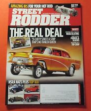 STREET RODDER MAGAZINE FEB/2014...THE REAL DEAL: 1955 CHEVY STREET & STRIP