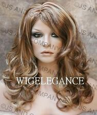 WAVY Layered Brand New Style RED Strawberry Blonde MIX Wig JSBD RS29