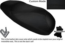 BLACK STITCH  CUSTOM FITS HONDA X8R X8RS 50 DUAL LEATHER SEAT COVER ONLY