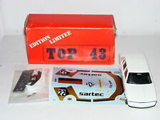 Solido/Top 43 0022 BMW 528 Sartec Lucien Guitenny 1981 FTCC 1/43 Kit
