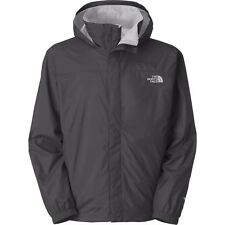 NEW THE NORTH FACE ASPHALT GRAY NYLON RESOLVE HOODED RAIN JACKET SIZE XL