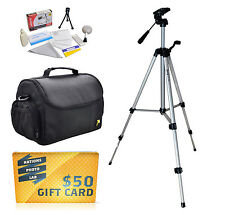 Tripod & Case Kit for Canon PowerShot SX700 HS ELPH 135 140 150 340 IS SX600 D30