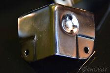 8 Boxenecken Stapelbar Schutzecken PA Metall-Ecken 50 Lautsprecher Kantenschutz