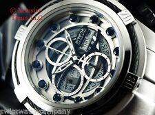 Invicta Men Bk Wire Bolt Zeus Swiss Made SW500 Auto 1.74ct Black Spinel SS Watch