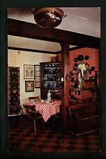Restaurant postcard Washington DC Water Gate Inn horse interior chrome