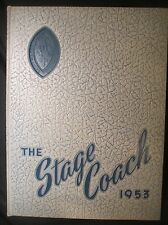 1953 Stage Coach St. Mary's School & Junior College Yearbook, Raleigh, NC