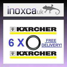 6 x  KARCHER HD HDS HOSE NOZZLE JET LANCE SPARE O-RING SEALS O RINGS O RING SEAL