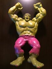 "1978 Incredible Hulk Rage in the Cage Action Figure 12"" Marvel Funstuf Remco"