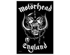 OFFICIAL LICENSED - MOTORHEAD - ENGLAND TEXTILE POSTER FLAG METAL LEMMY