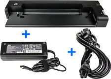 HP Docking Station HSTNN-I16X +Orig. HP 120W Netzteil+Stromkabel Elitebook 2570p