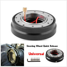 Racing Universal Car Steering Wheel Quick Release Hub Adapter Snap Off Boss Kit