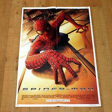 SPIDER MAN manifesto poster Tobey Maguire Kirsten Dunst Willem Dafoe Marvel 2002