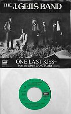 J GEILS BAND  One Last Kiss  rare promo 45 with PicSleeve from 1978