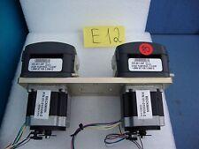 2 UNITS Watson Marlow 313DF PUMPHEAD  1.6MM WT FOR 3.2MM ID+MOTORS
