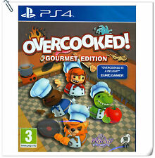 PS4 Overcooked SONY PLAYSTATION Action Games SCE