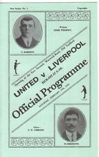 1909/10    Manchester United    v    Liverpool       Opening Of Old Trafford