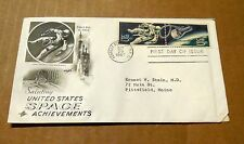 1967! Saluting United States Space Achievements! w/Spacewalk Stamps! Good Cond!