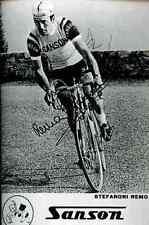 STEFANONI REMO SANSON Signature PRINT Autograph cycling REPRO cyclisme ciclismo
