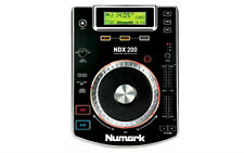 Numark NDX200 PROFESSIONAL TABLETOP CD MEDIA PLAYER SINGLE DECK  DJ **FREE P&P**