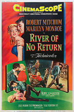 LA MAGNIFICA PREDA RIVER OF NO RETURN MANIFESTO MARILYN MONROE ROBERT MITCHUM