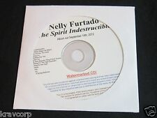 NELLY FURTADO 'THE SPIRIT INDESTRUCTIBLE' 2012 PROMO CD—SEALED